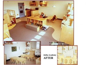 classroom remodel before after image 8