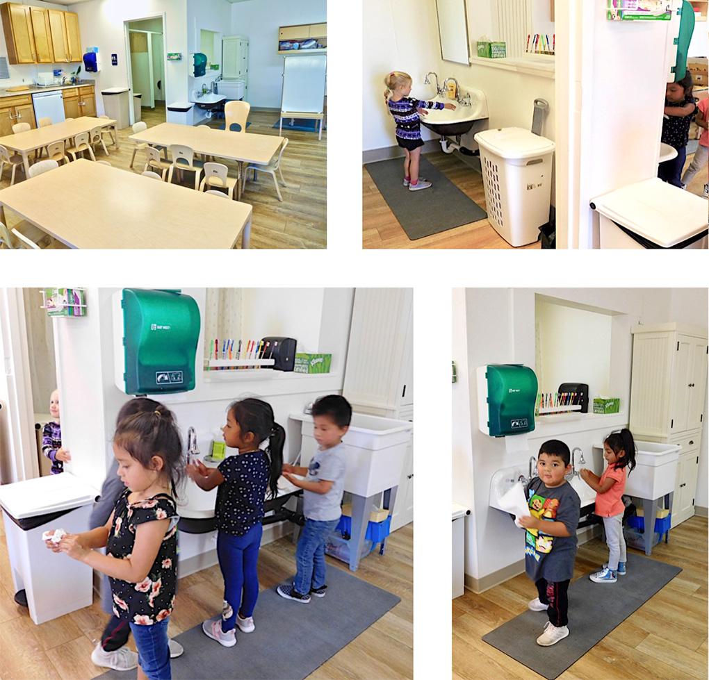 marin headstart handwashing station