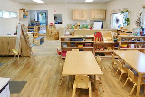 marin novato childcare room