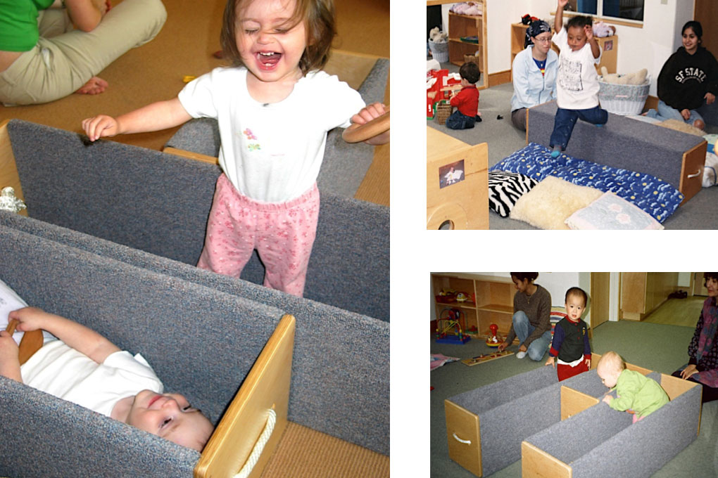 risers promote gross motor activity